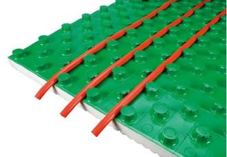 Polystyren pro podlahové vytápění