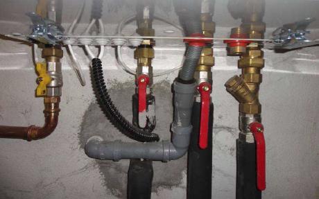 Odvod kondenzátu z plynového kotle
