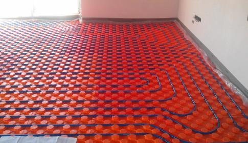 Systémové desky podlahového topení