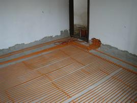 Akumulační podlahové vytápění