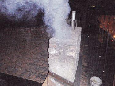 Obtěžování kouřem z komína