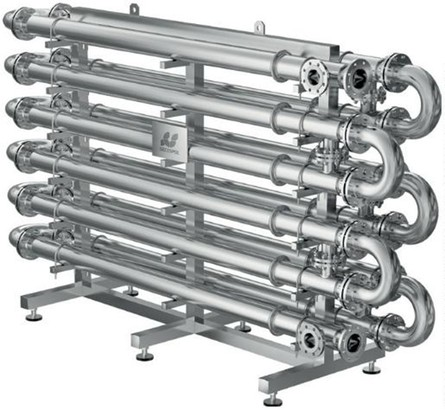 Obr. 2: Trubkový výměník tepla SECESPOL ST