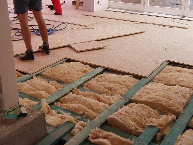 Jak udělat rošt na podlahu